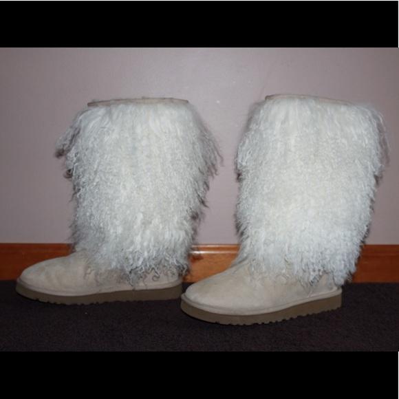 c08ceeeb1fb Ugg Tall Sheepskin Cuff boots
